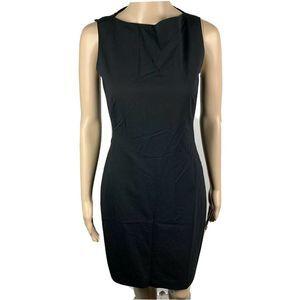 Theory Betty 2B Dress Sheath Wool Blend  Black